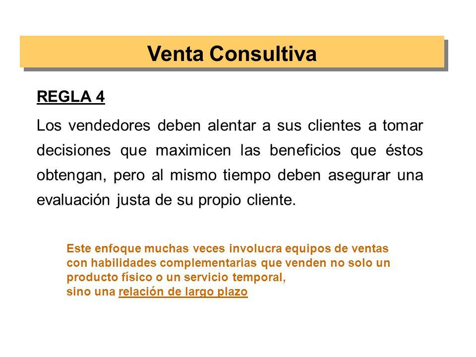 Venta Consultiva REGLA 4