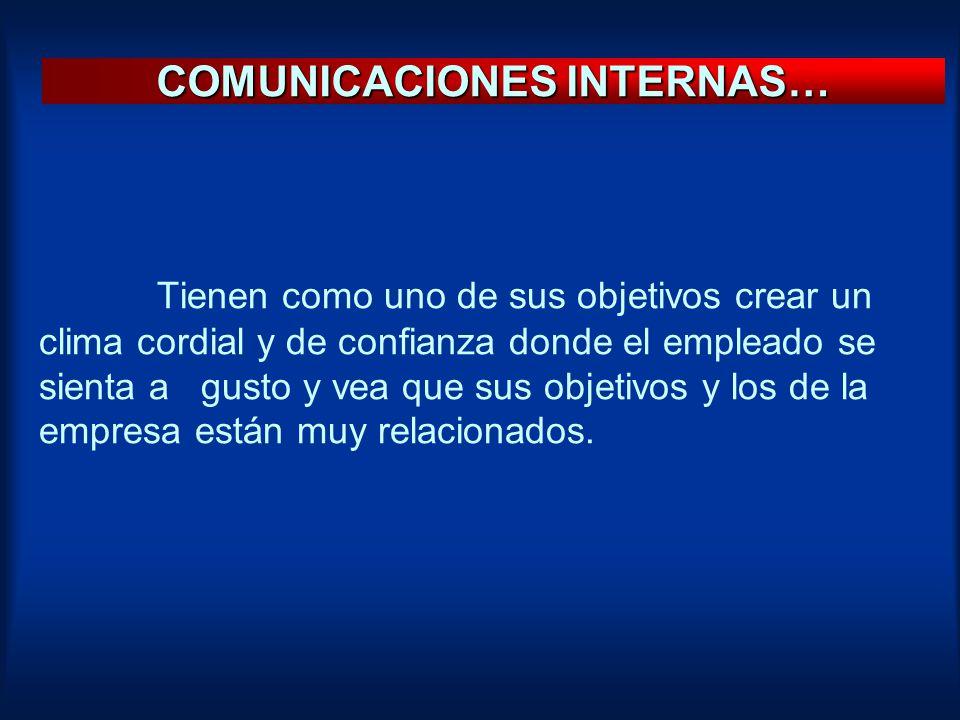 COMUNICACIONES INTERNAS…