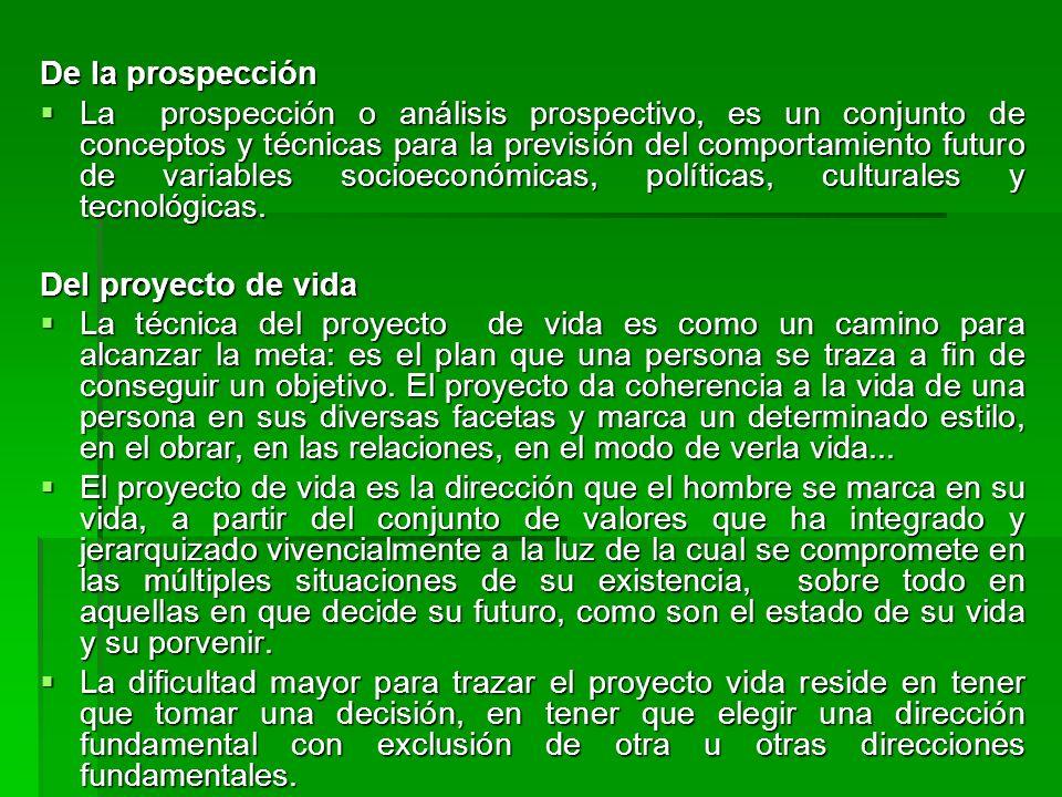De la prospección