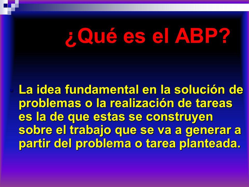 ¿Qué es el ABP