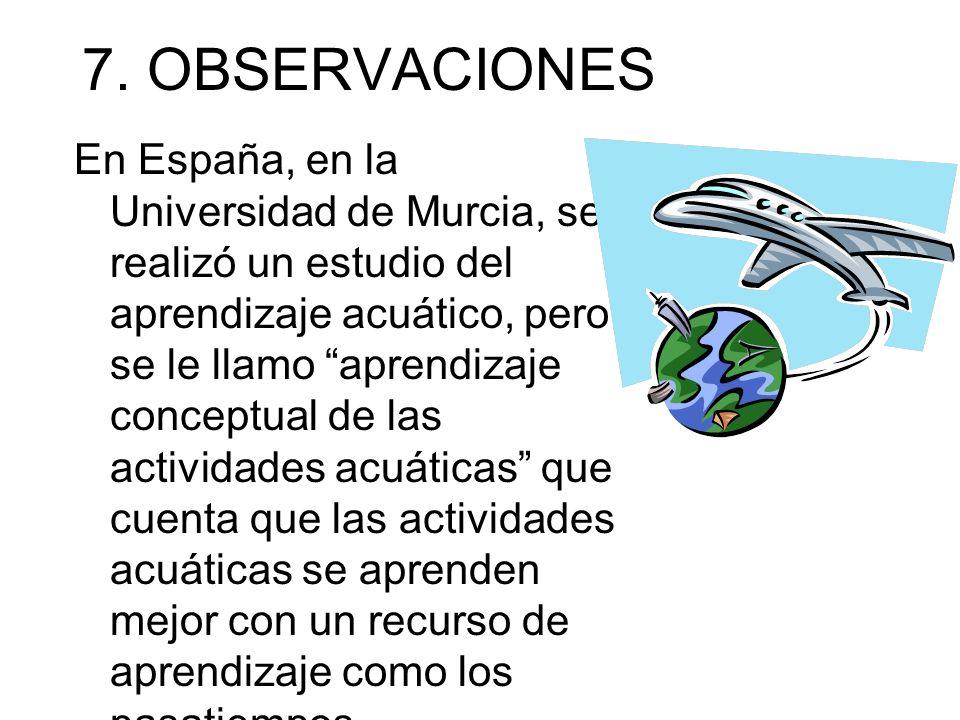 7. OBSERVACIONES