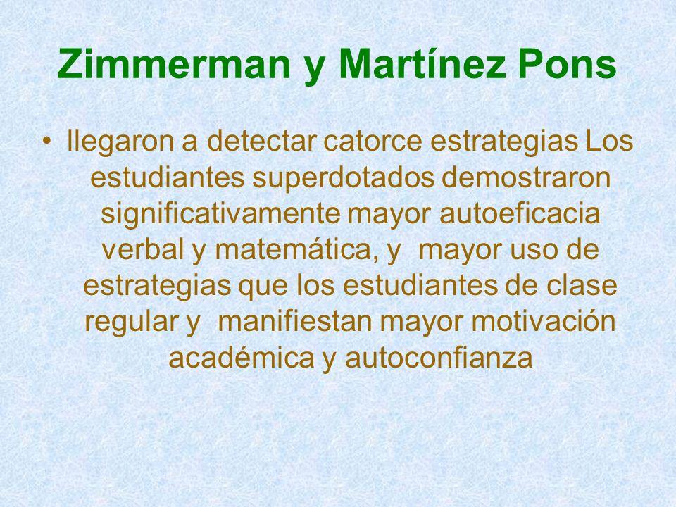 Zimmerman y Martínez Pons