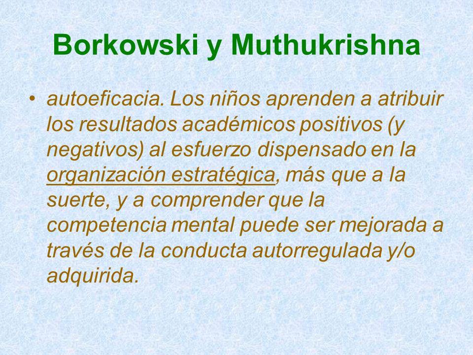 Borkowski y Muthukrishna
