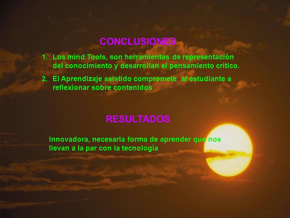 CONCLUSIONES RESULTADOS