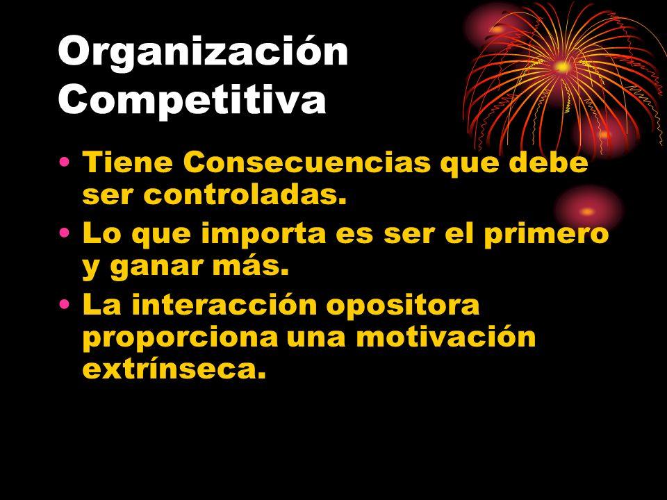 Organización Competitiva