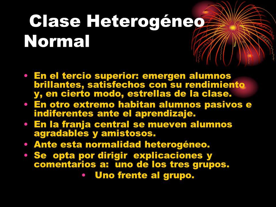 Clase Heterogéneo Normal
