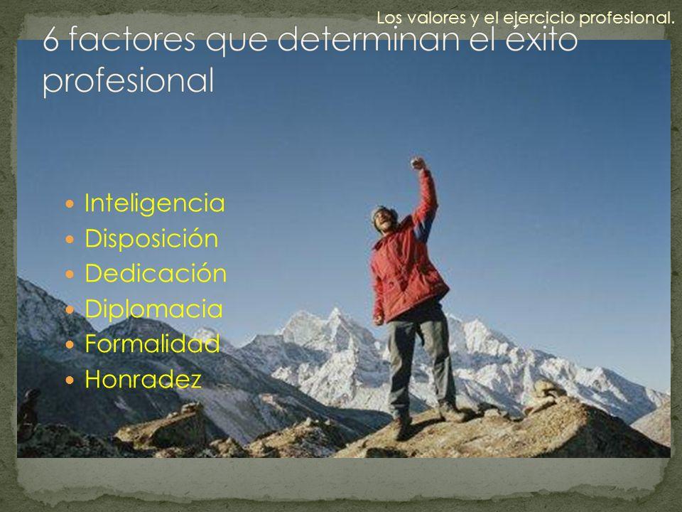 6 factores que determinan el éxito profesional