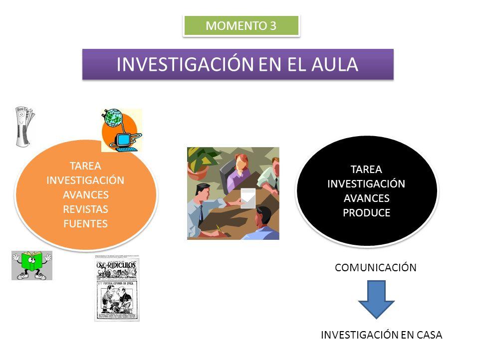 INVESTIGACIÓN EN EL AULA