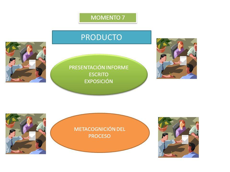 PRODUCTO MOMENTO 7 PRESENTACIÓN INFORME ESCRITO EXPOSICIÓN