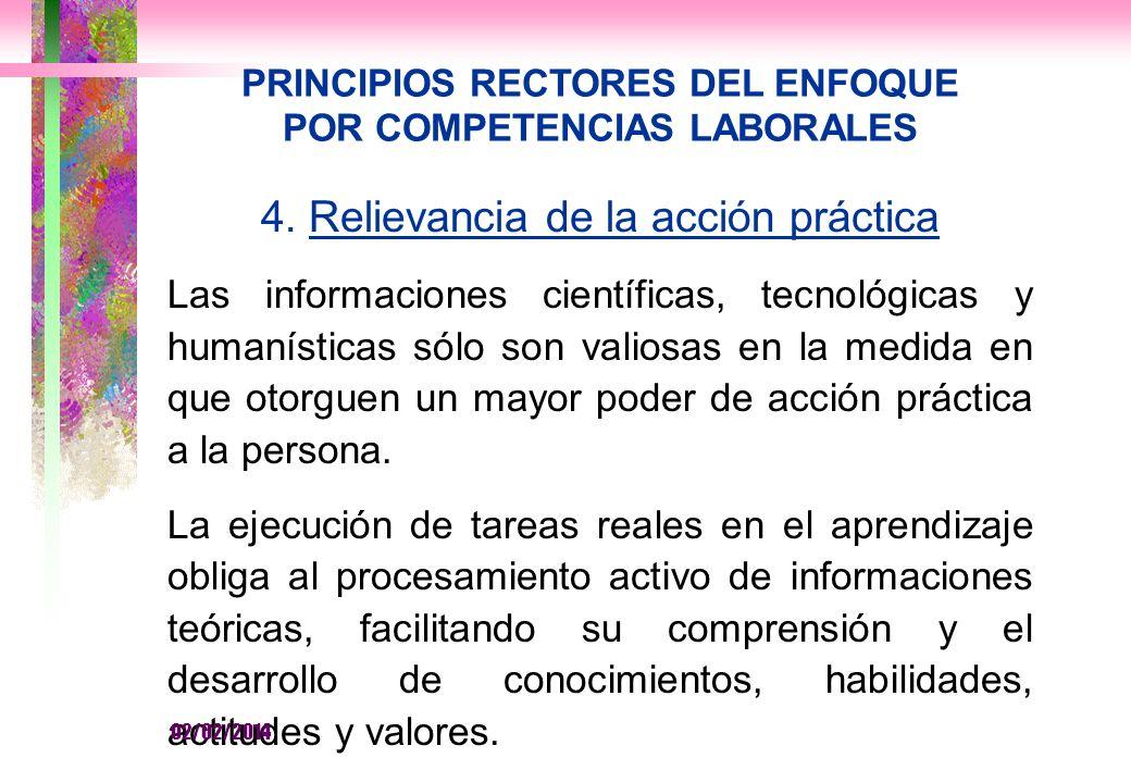 PRINCIPIOS RECTORES DEL ENFOQUE POR COMPETENCIAS LABORALES