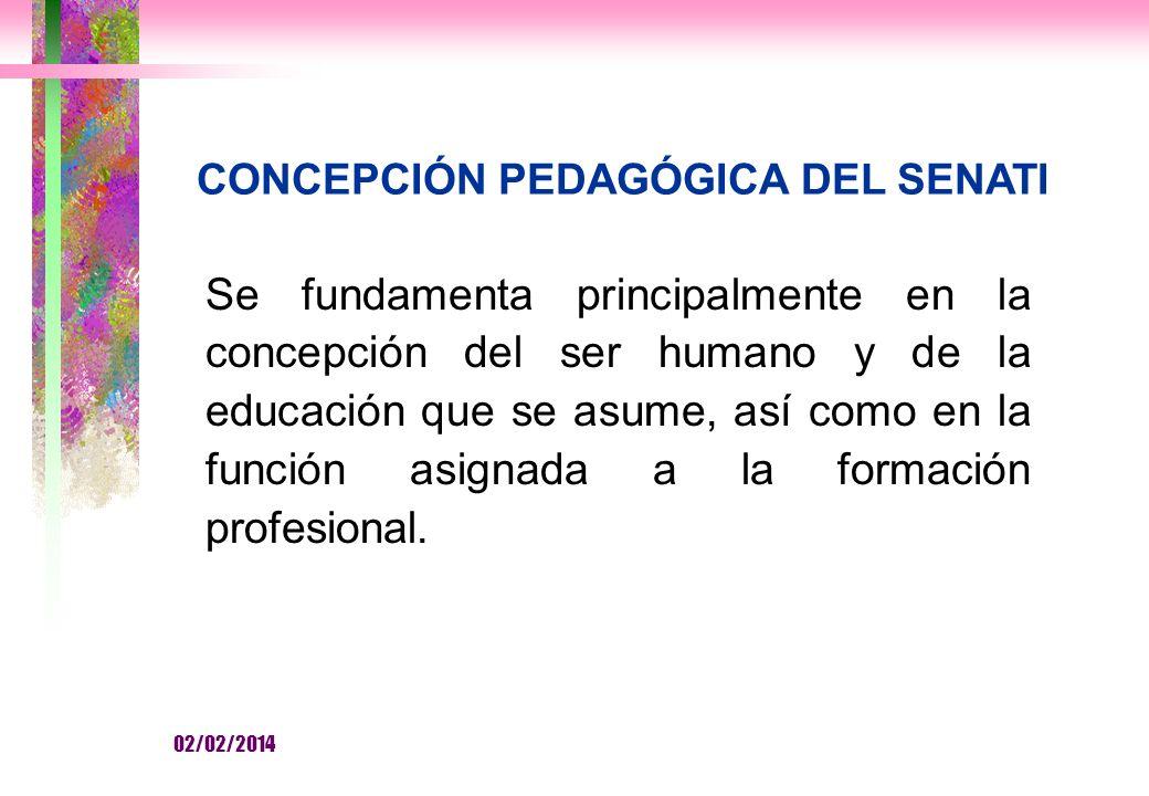 CONCEPCIÓN PEDAGÓGICA DEL SENATI