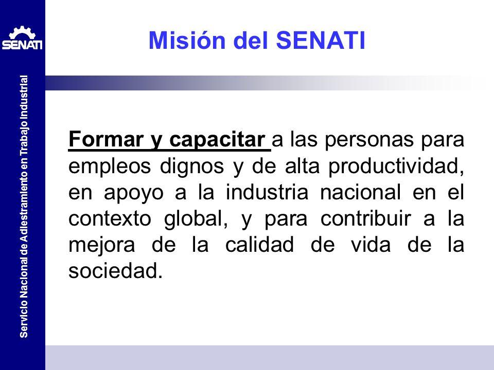 Misión del SENATI
