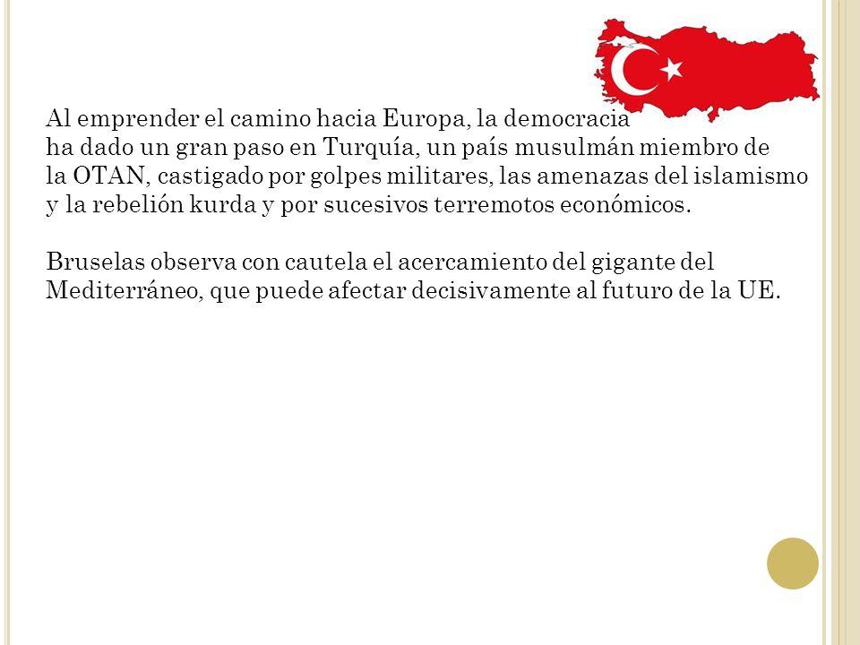 Al emprender el camino hacia Europa, la democracia