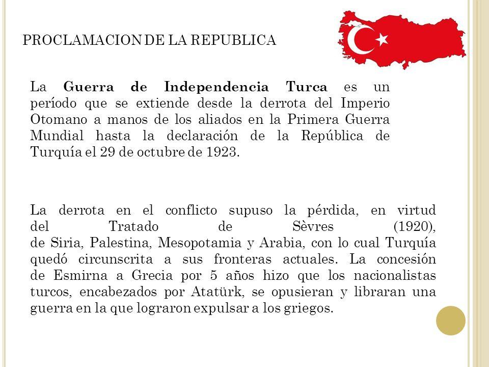 PROCLAMACION DE LA REPUBLICA