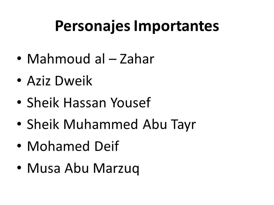 Personajes Importantes