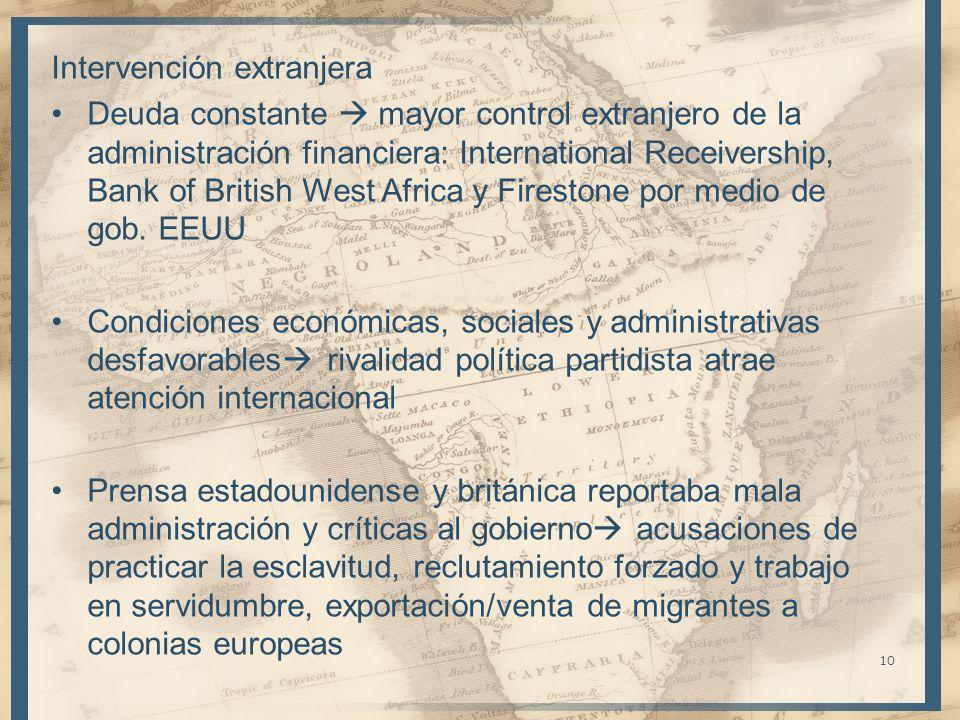 Intervención extranjera