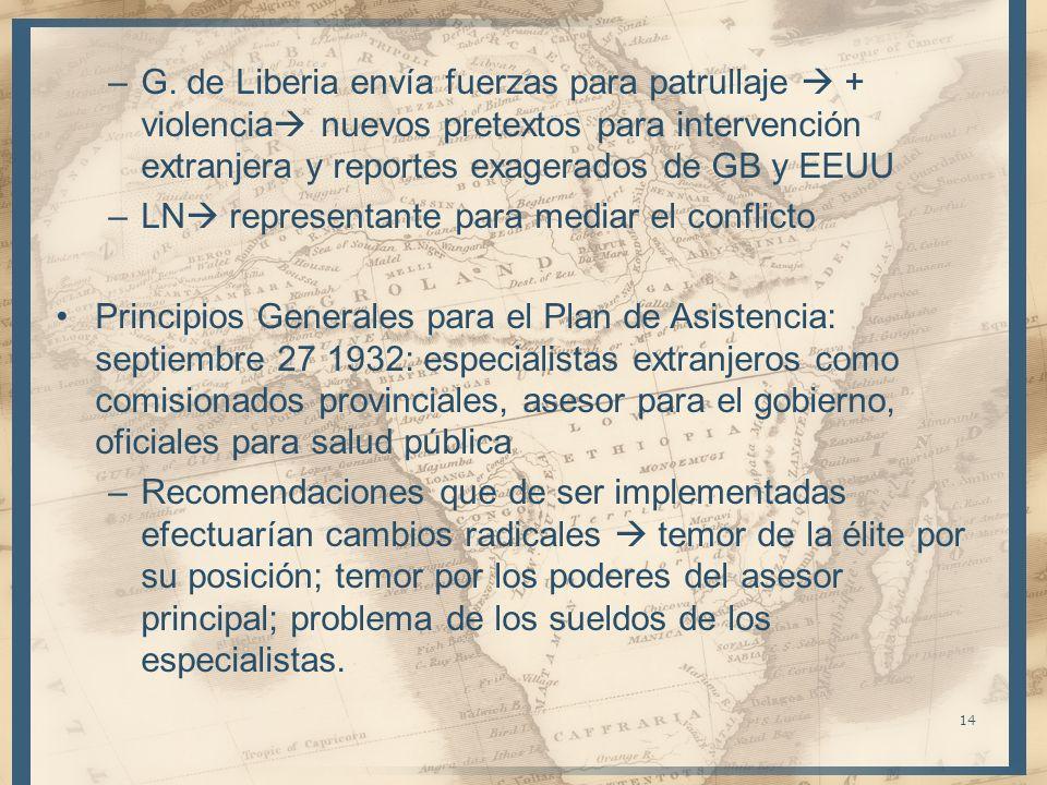 G. de Liberia envía fuerzas para patrullaje  + violencia nuevos pretextos para intervención extranjera y reportes exagerados de GB y EEUU