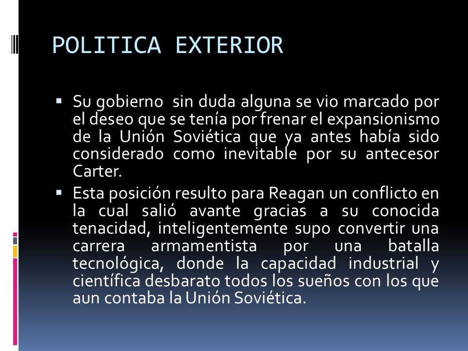 POLITICA EXTERIOR