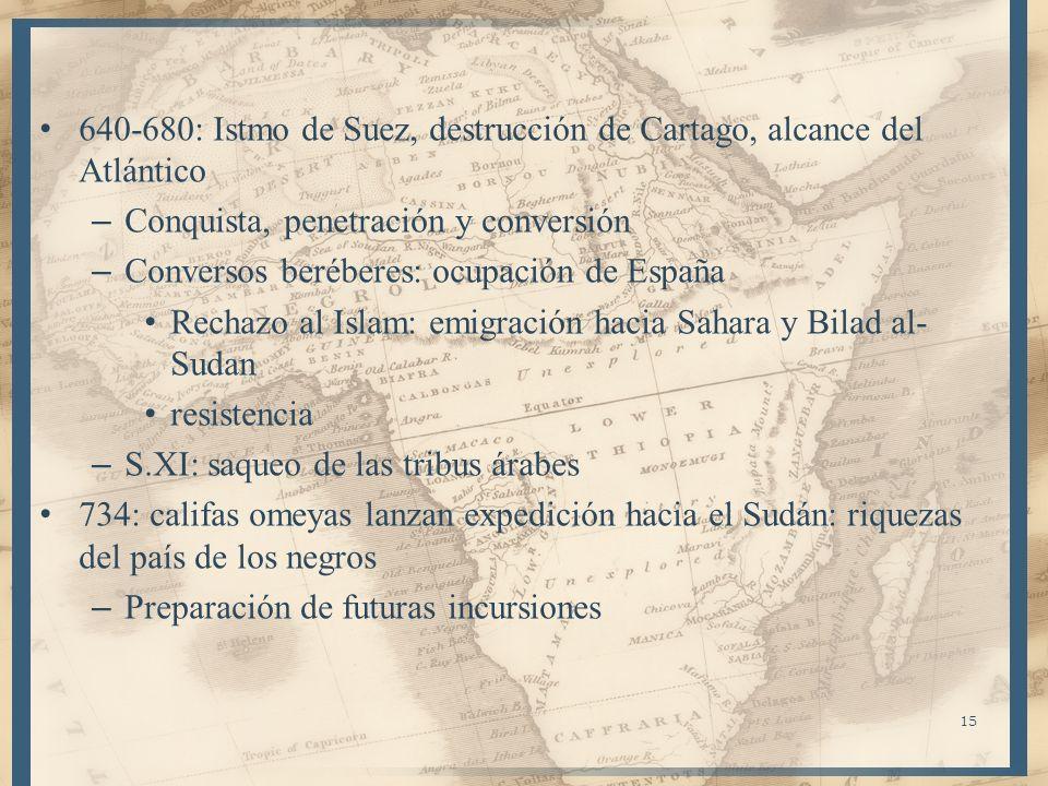 640-680: Istmo de Suez, destrucción de Cartago, alcance del Atlántico
