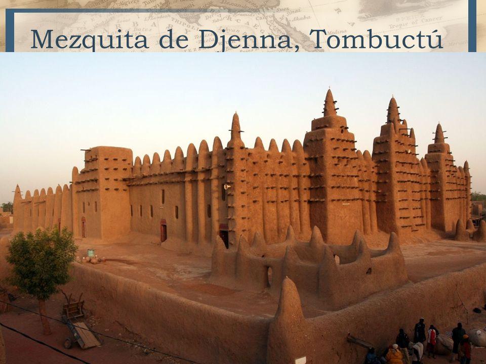 Mezquita de Djenna, Tombuctú