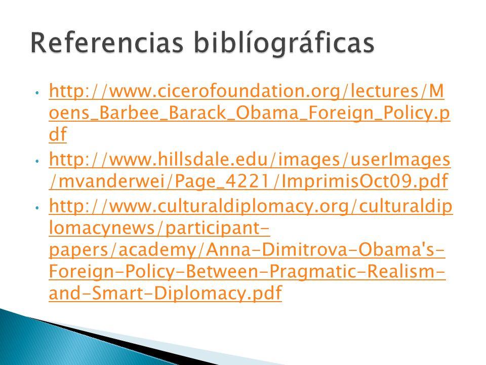 Referencias biblíográficas
