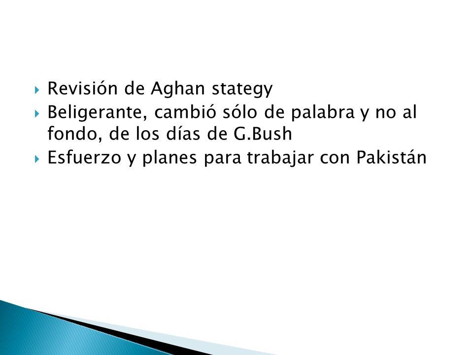 Revisión de Aghan stategy