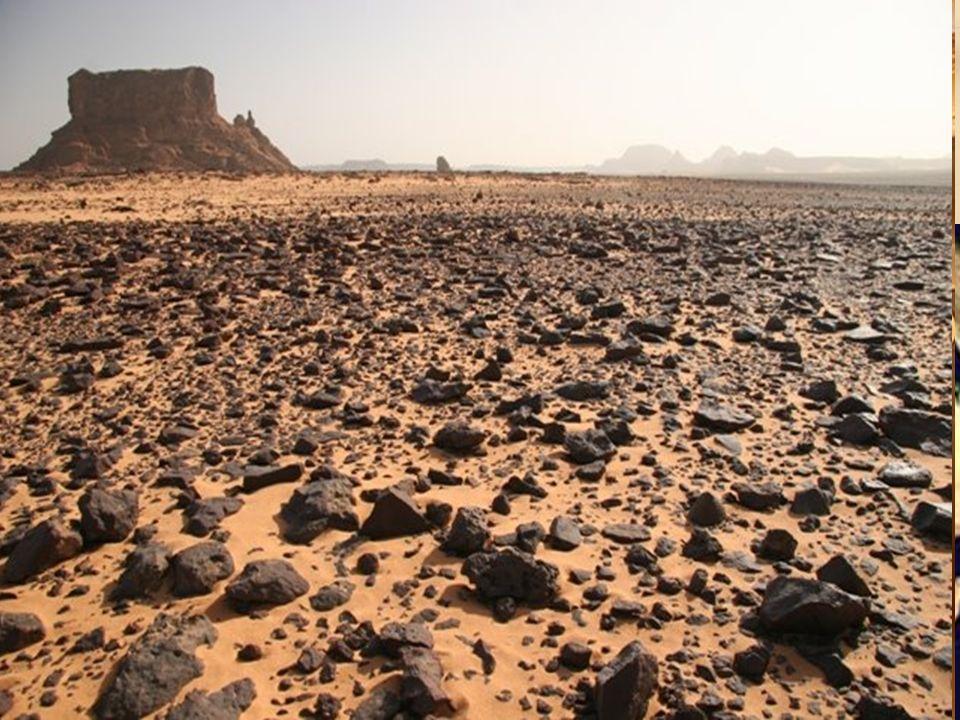 Sahara Desierto desde el O. Atlántico hasta el Mar Rojo