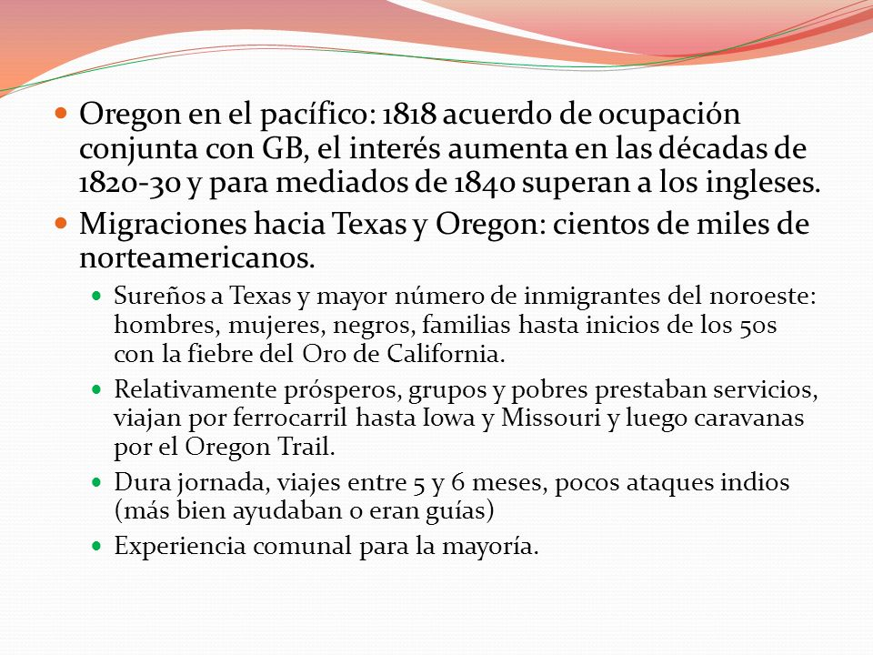 Migraciones hacia Texas y Oregon: cientos de miles de norteamericanos.