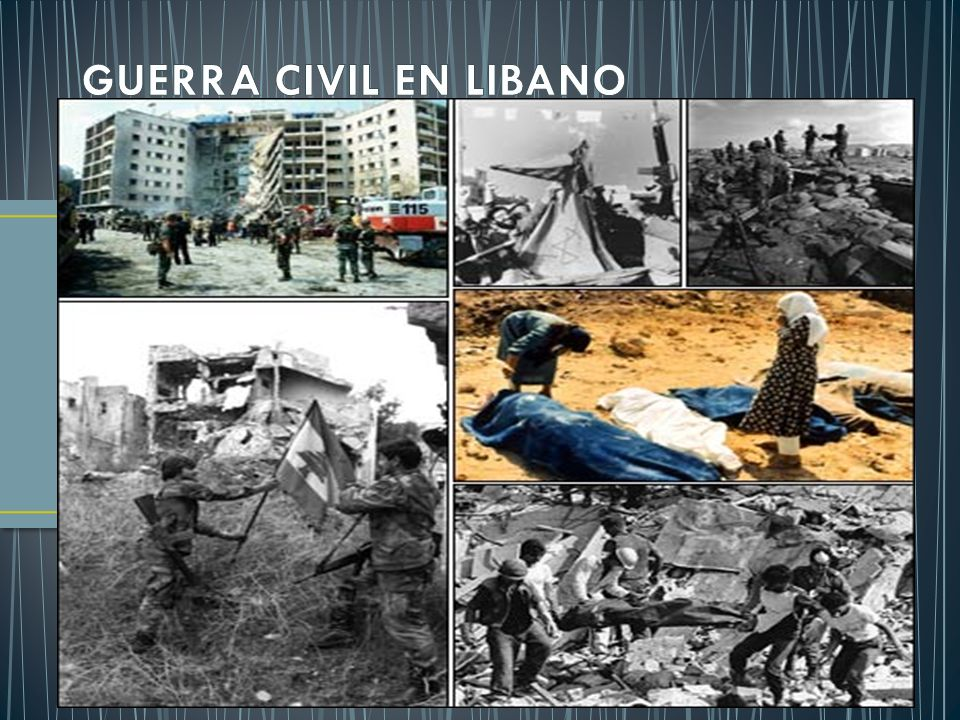 GUERRA CIVIL EN LIBANO