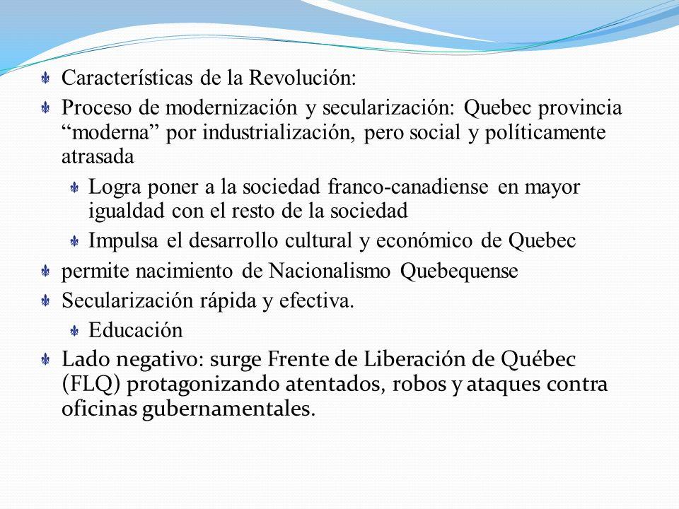 Características de la Revolución: