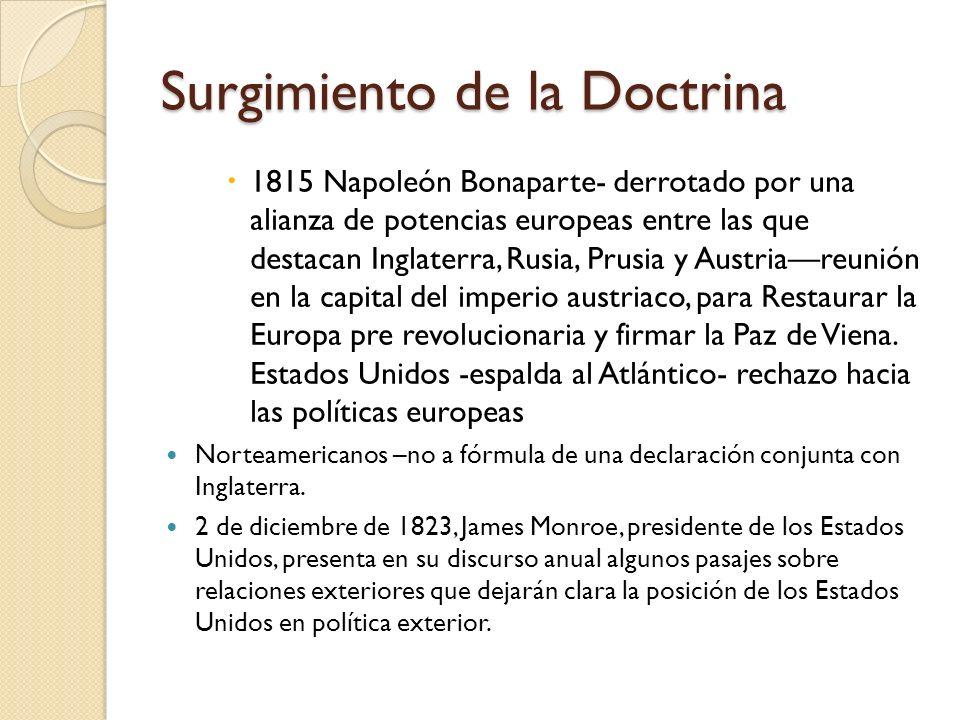 Surgimiento de la Doctrina