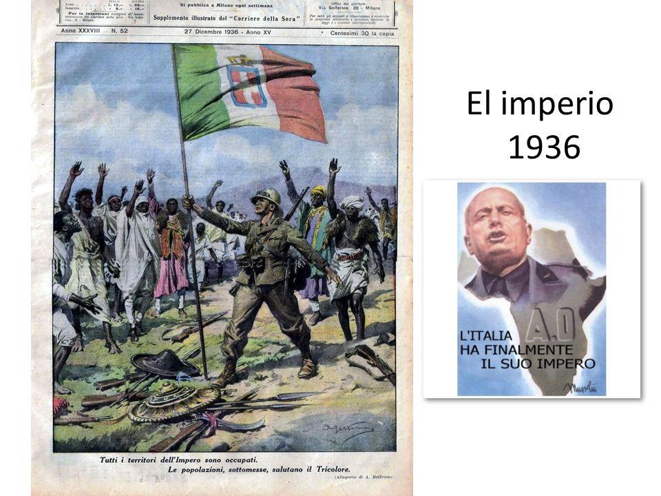 El imperio 1936