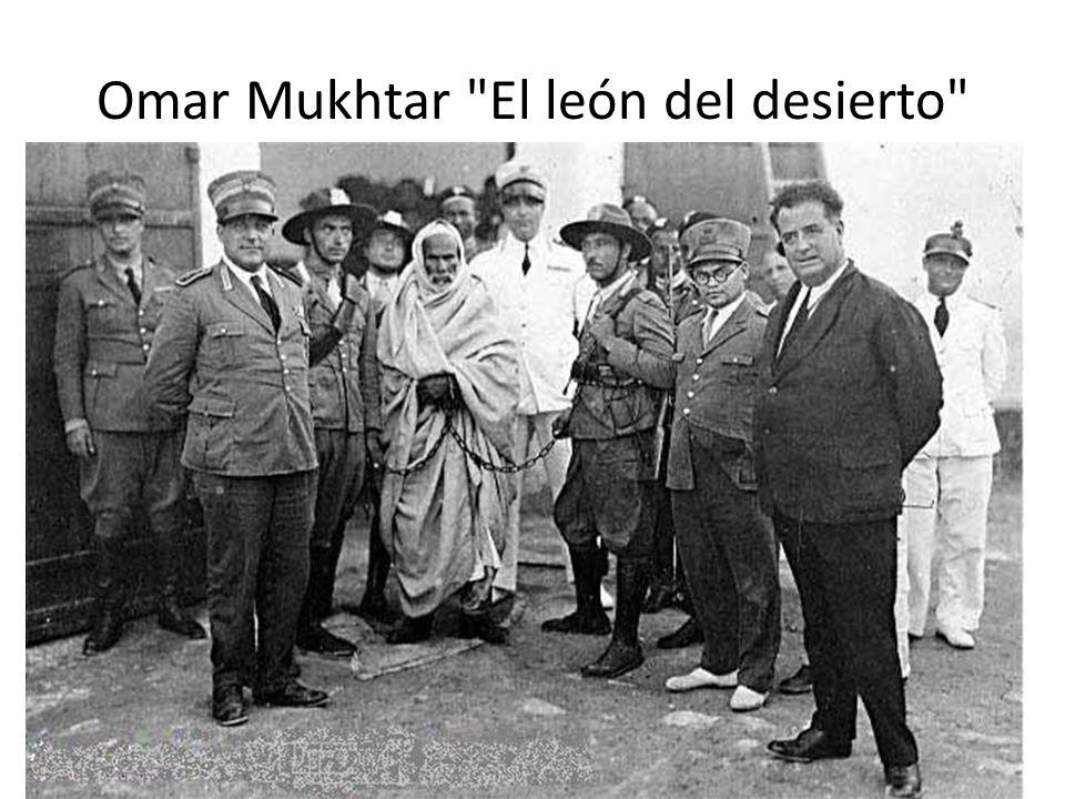 Omar Mukhtar El león del desierto