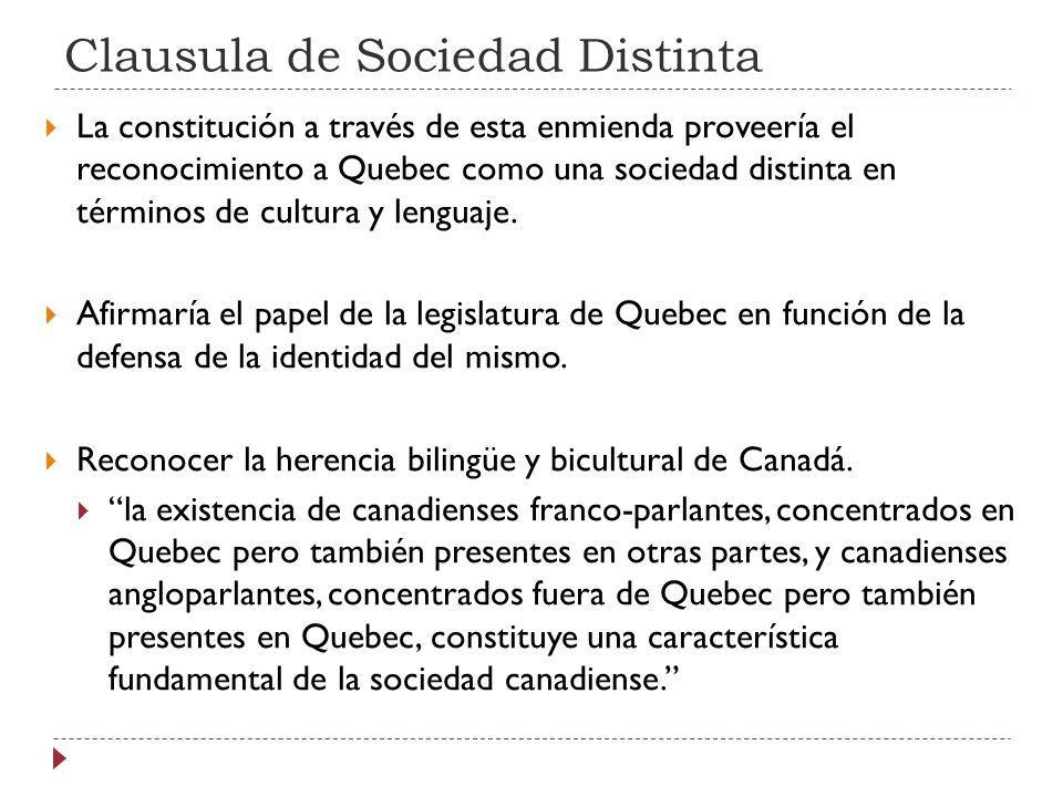 Clausula de Sociedad Distinta