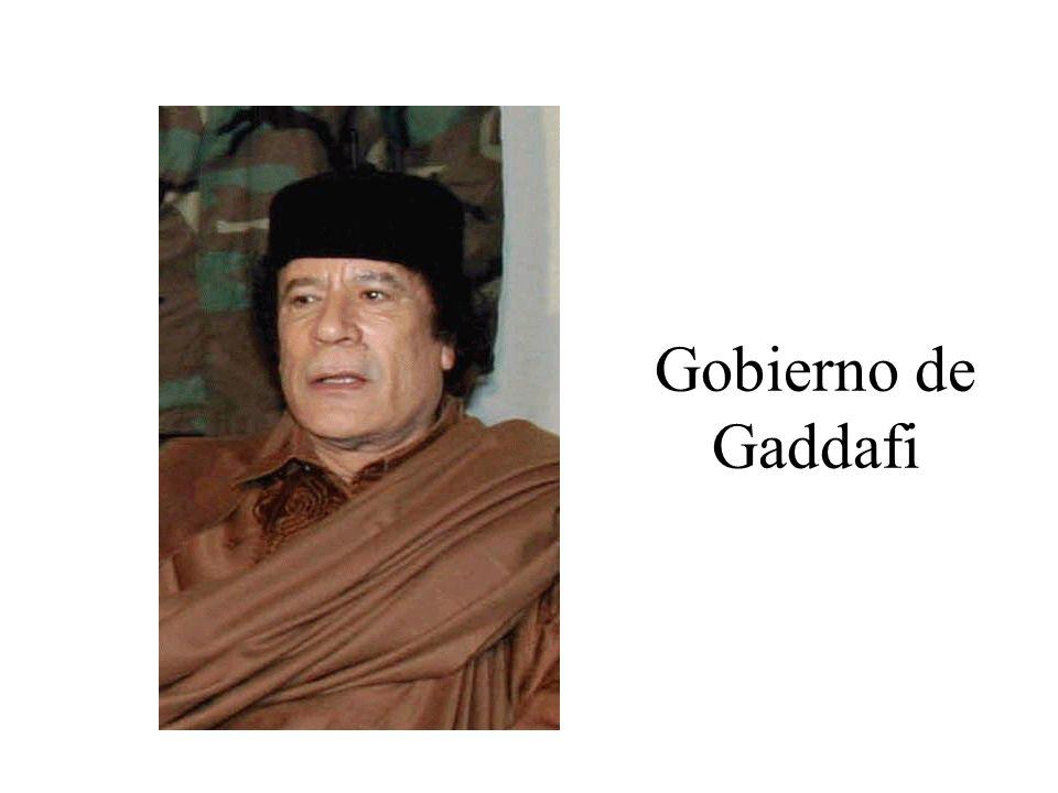 Gobierno de Gaddafi