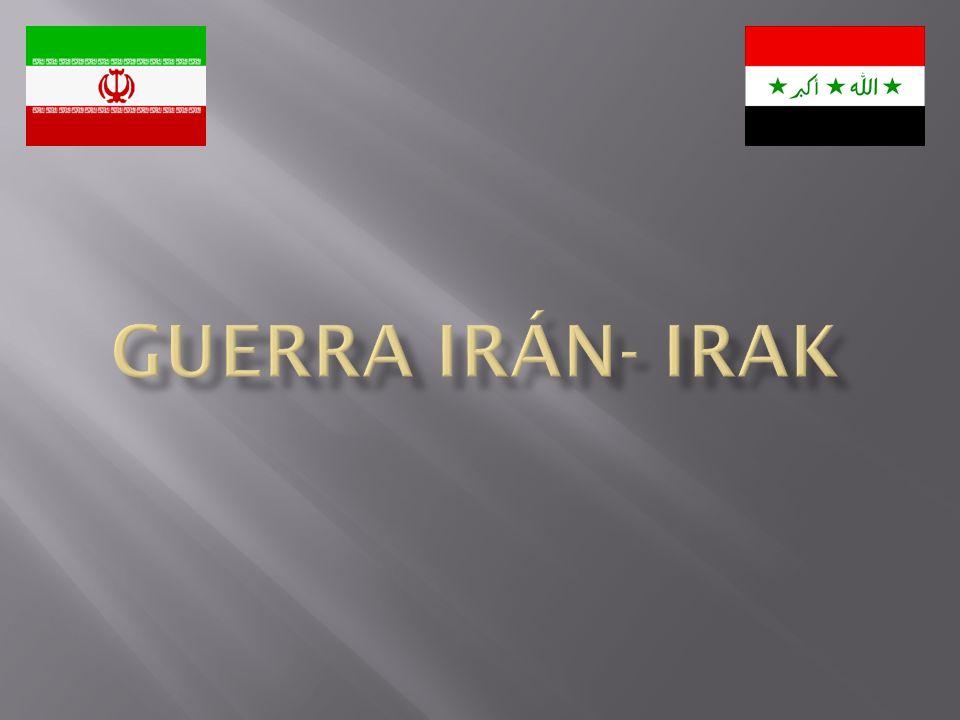 Guerra irán- Irak