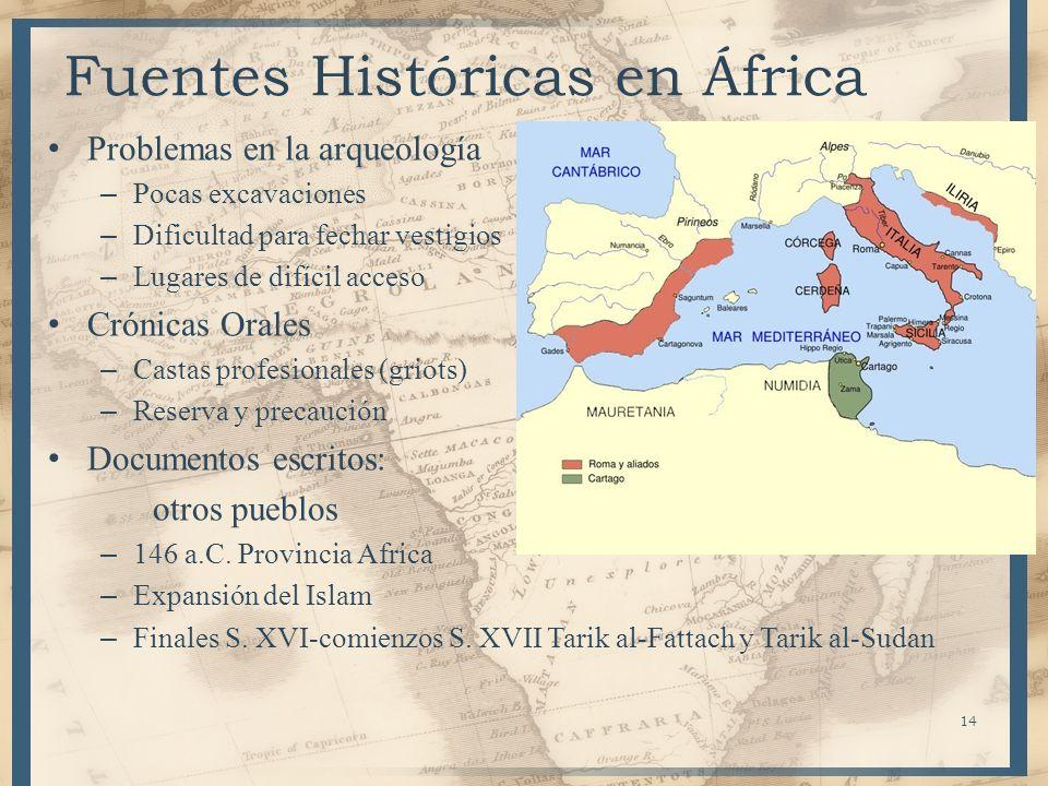 Fuentes Históricas en África