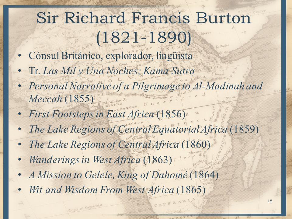 Sir Richard Francis Burton (1821-1890)