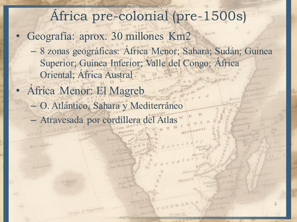 África pre-colonial (pre-1500s)