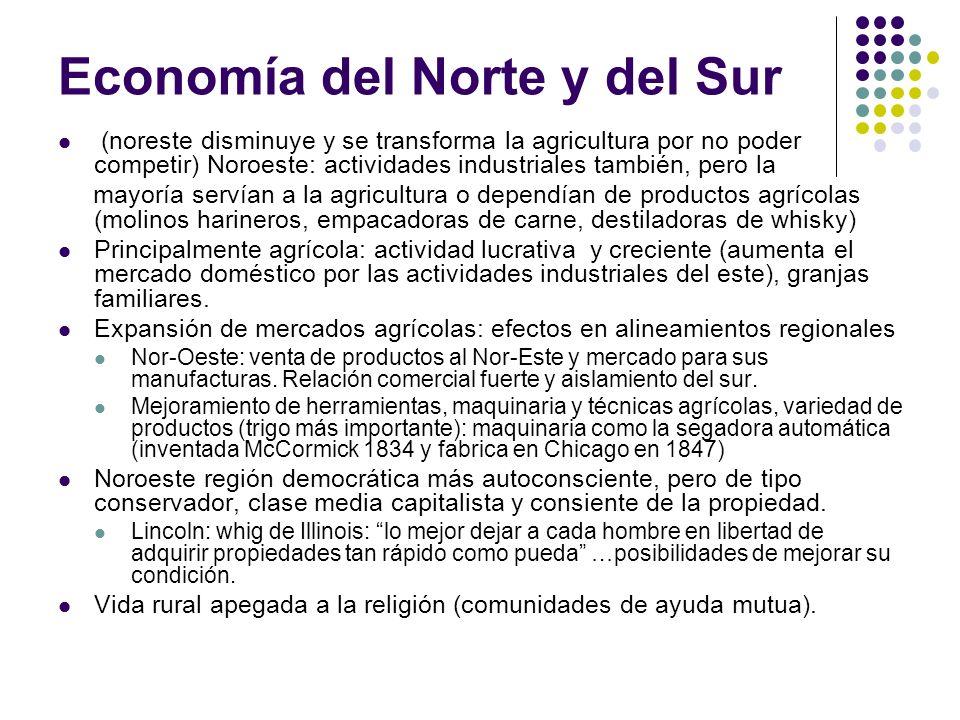 Economía del Norte y del Sur