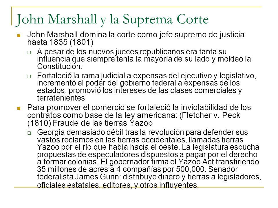 John Marshall y la Suprema Corte