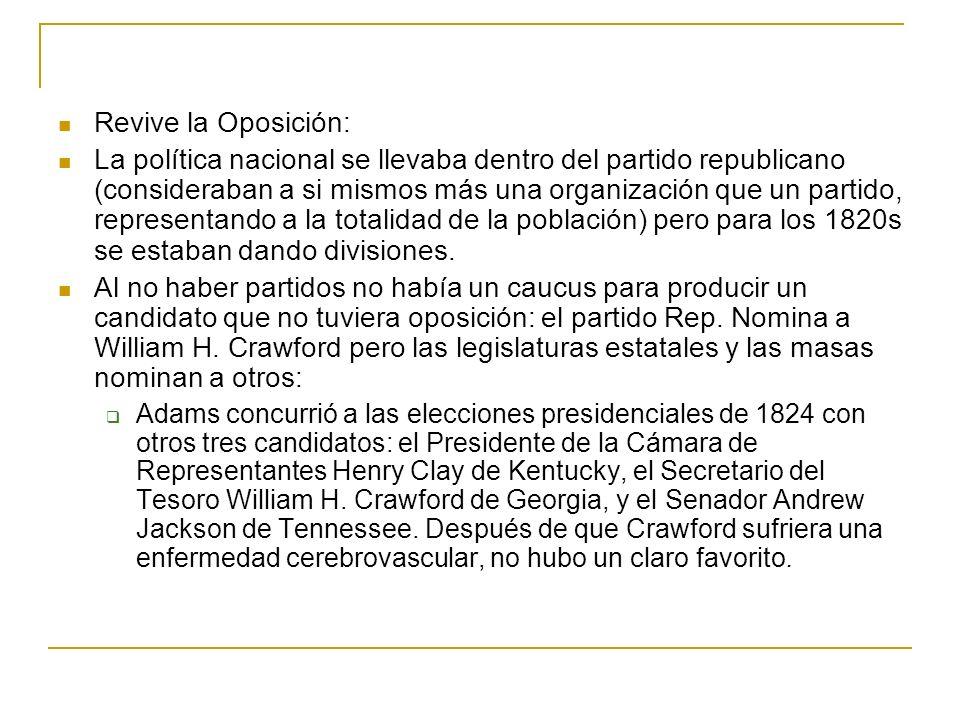 Revive la Oposición: