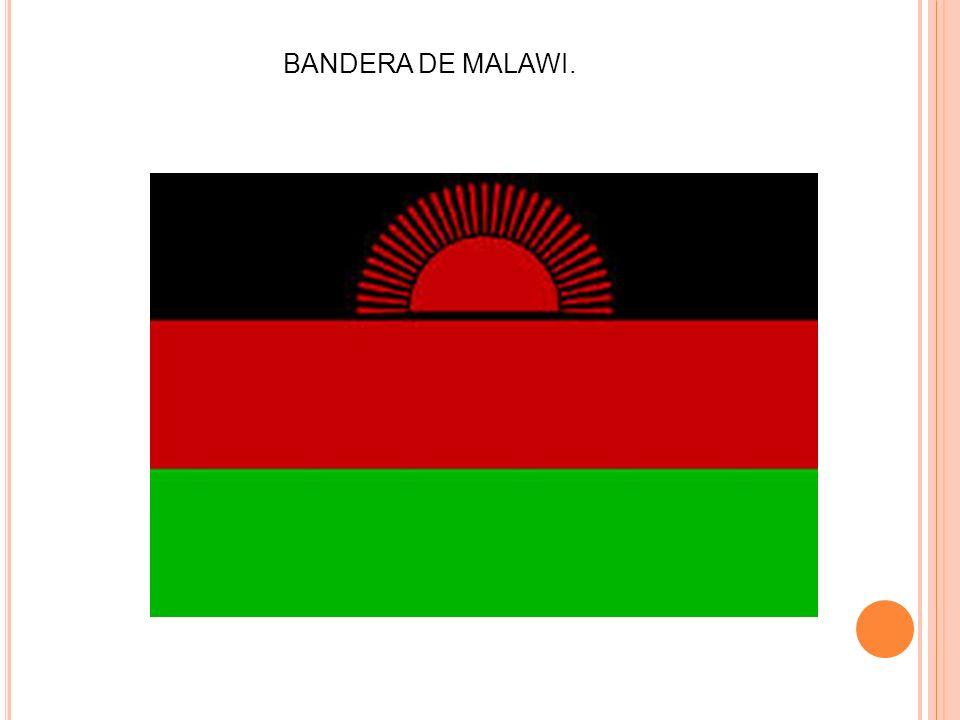 BANDERA DE MALAWI.