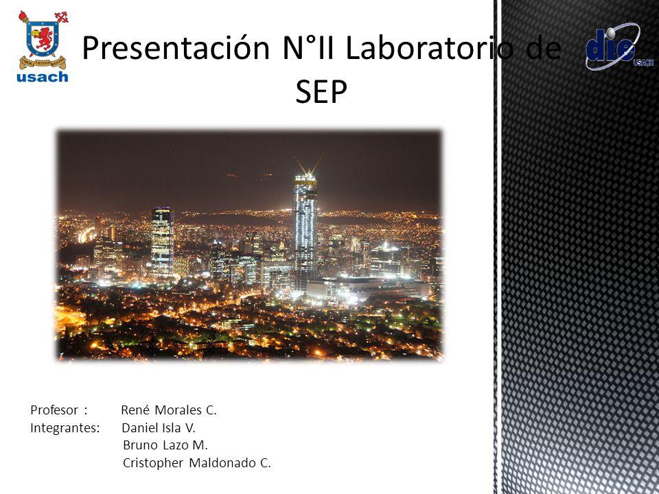 Presentación N°II Laboratorio de SEP