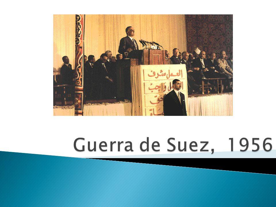Guerra de Suez, 1956