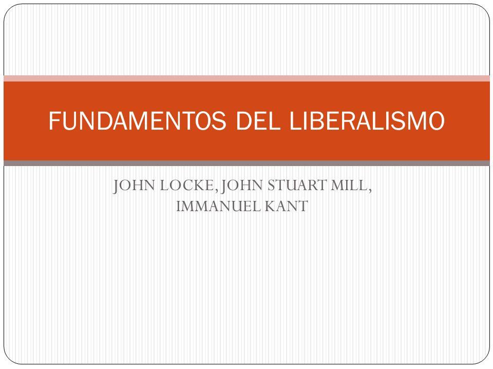 FUNDAMENTOS DEL LIBERALISMO