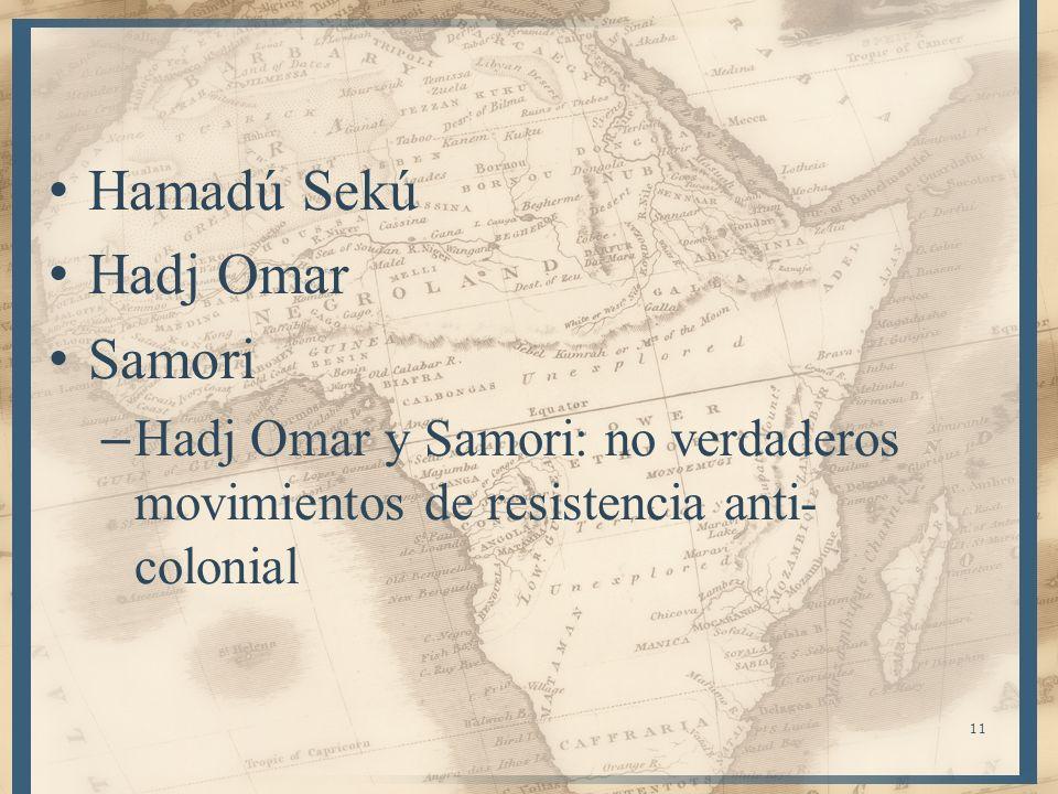 Hamadú Sekú Hadj Omar Samori