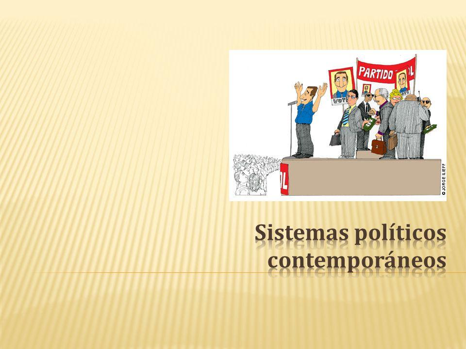 Sistemas políticos contemporáneos