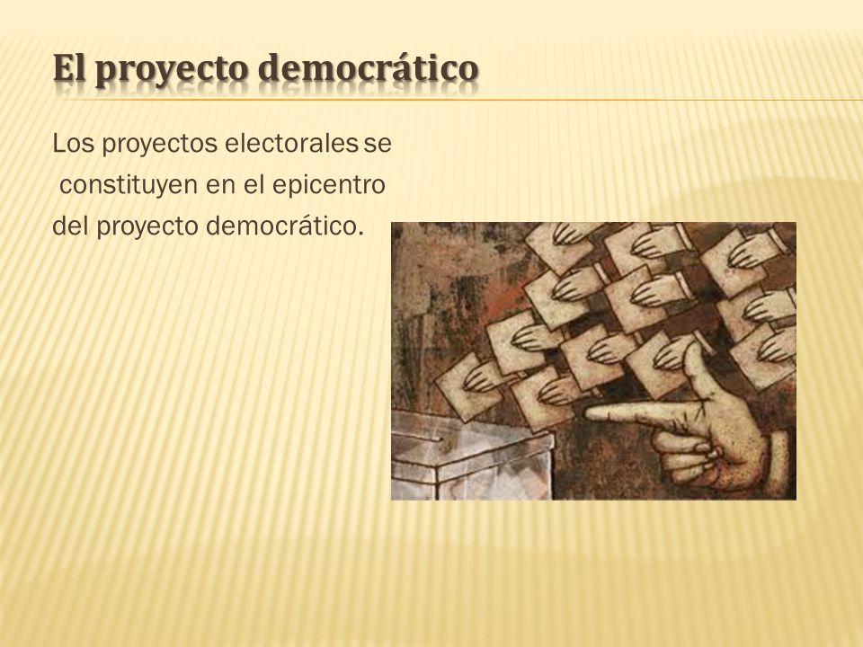 El proyecto democrático