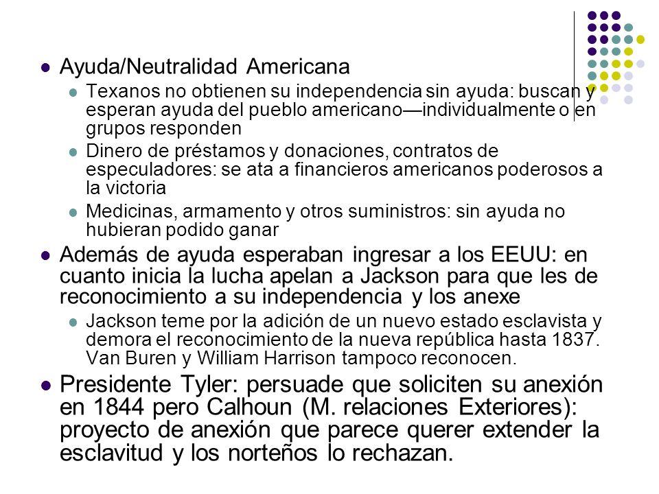 Ayuda/Neutralidad Americana